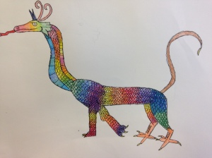 Texture Dragons (4)