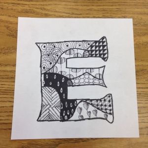 Zentangle Drawing (1)