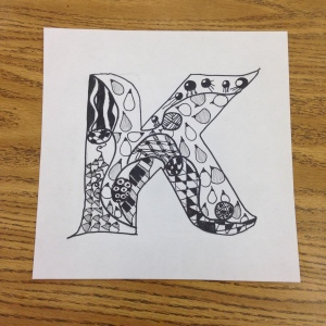 Zentangle Drawing (2)