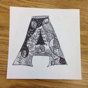 Zentangle Drawing (4)