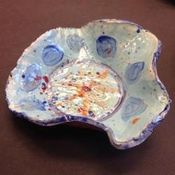 Clay Drape Bowls (2)