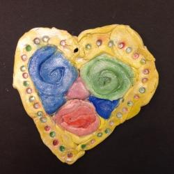 Clay Hearts (10)