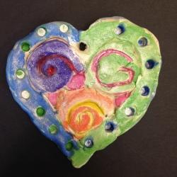 Clay Hearts (2)