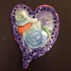 Clay Hearts (3)