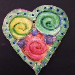 Clay Hearts (4)