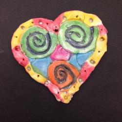 Clay Hearts (5)