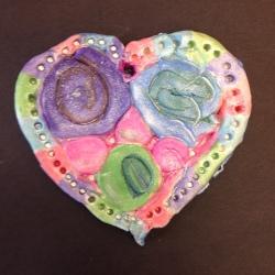 Clay Hearts (6)