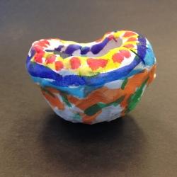Clay Pinch Pots (2)