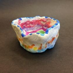 Clay Pinch Pots (6)