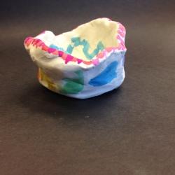 Clay Pinch Pots (8)