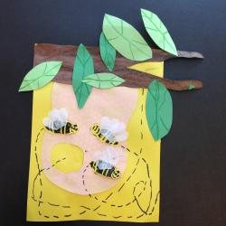 Bees Printmaking (10)