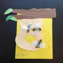 Bees Printmaking (4)