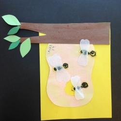 Bees Printmaking (5)