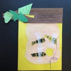 Bees Printmaking (7)