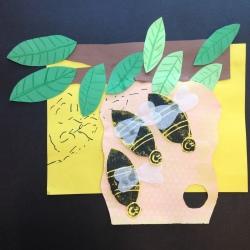 Bees Printmaking (8)