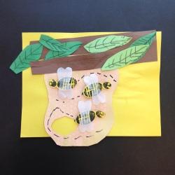 Bees Printmaking (9)
